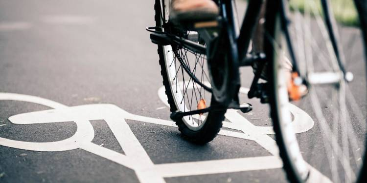 Fahrrad, Fahrradweg
