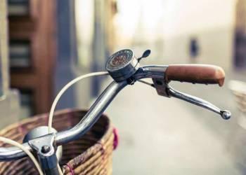 Fahrrad mit Fahrradkorb