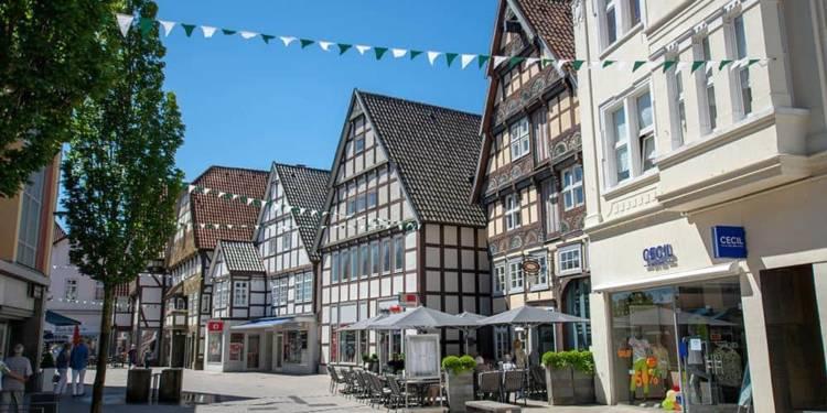 Innenstadt von Bad Salzuflen