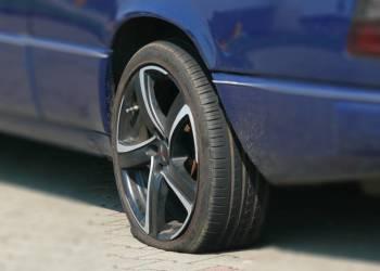 Platter Reifen