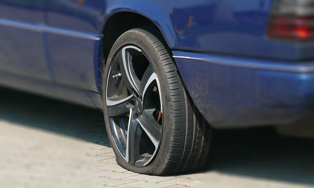 Reifen platt - © Pixabay