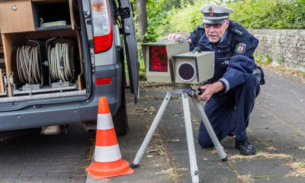 Geschwindigkeitskontrolle - © Polizei