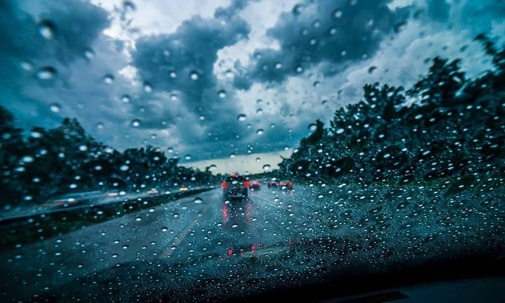 Autobahn, Regen - © Envato Elements