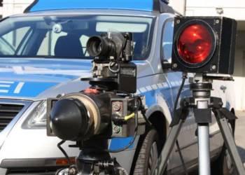 Geschwindigkeitskontrollen der Polizei