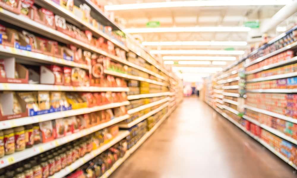 Supermarkt - © Shutterstock, 541750219