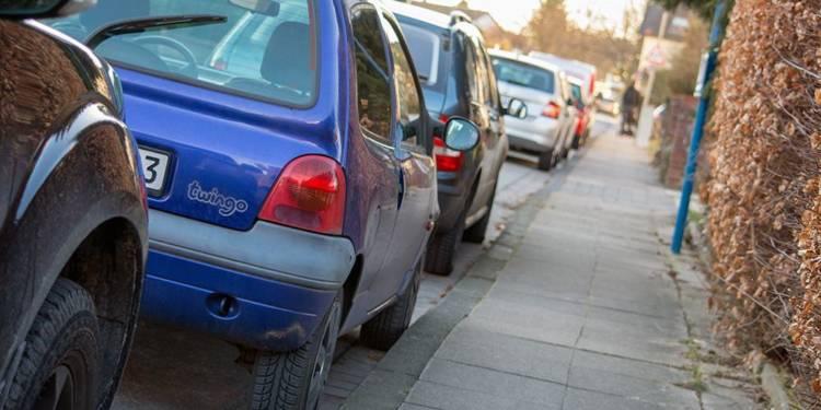 Parken, Straße