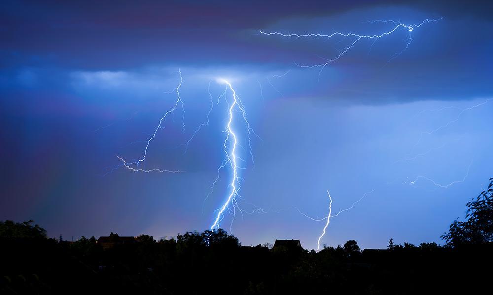 Gewitter, Blitz - © Envato Elements