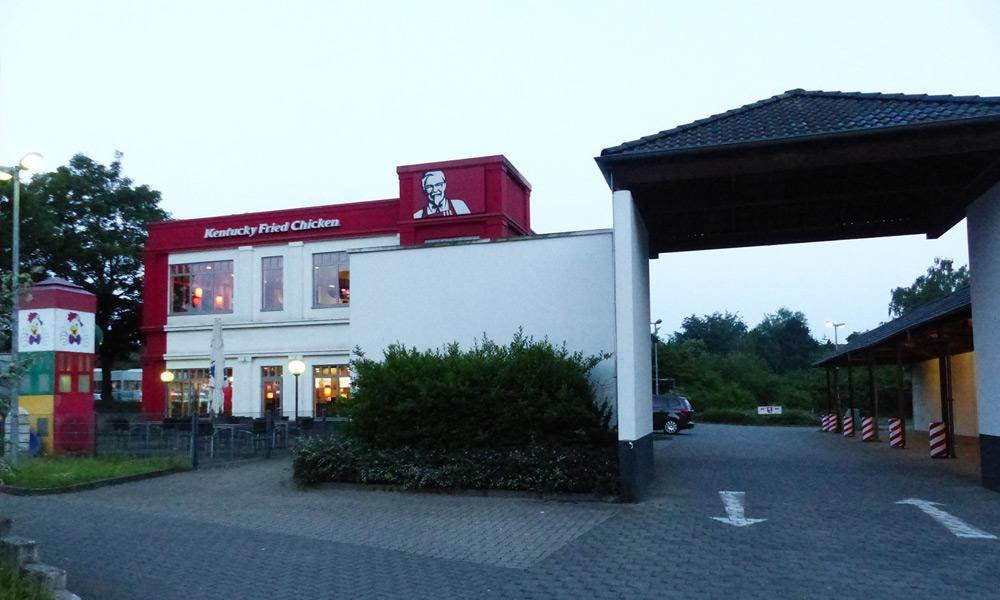Schnellrestaurant Kentucky Fried Chicken - © Polizei Bad Oeynhausen