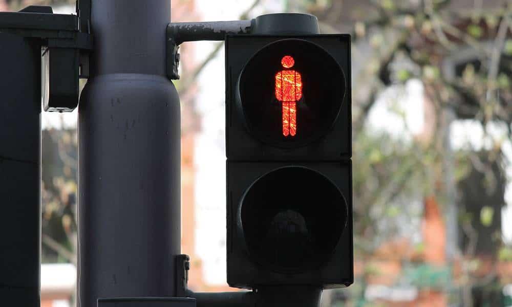 Fußgängerampel, Rot - © Pixabay