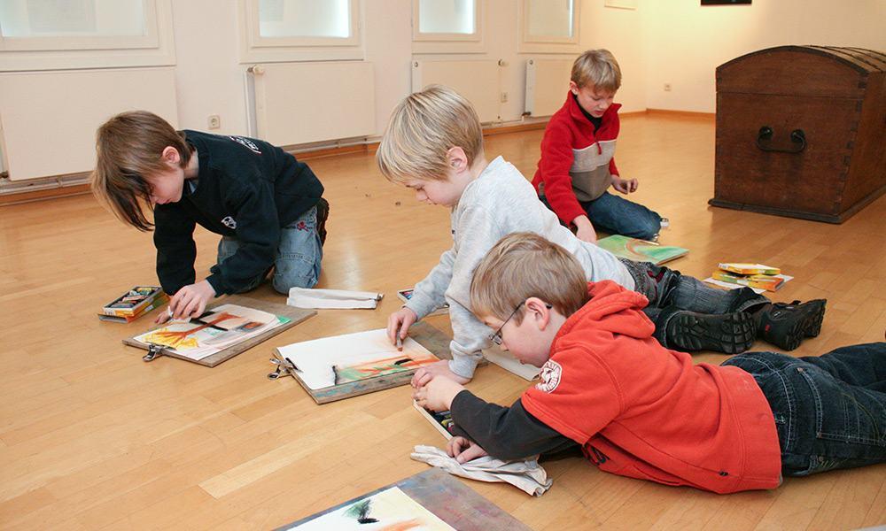 Kinder im Museum - © Landesverband Lippe