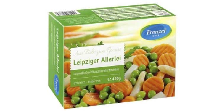 Produkt-Rückruf: Frenzel Leipziger Allerlei, 450 g - © Frenzel Tiefkühlwerke GmbH