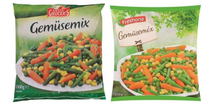 Produkt-Rückruf: Green Grocer's Gemüsemix, 1000 g - © Greenyard Frozen Belgium N.V.