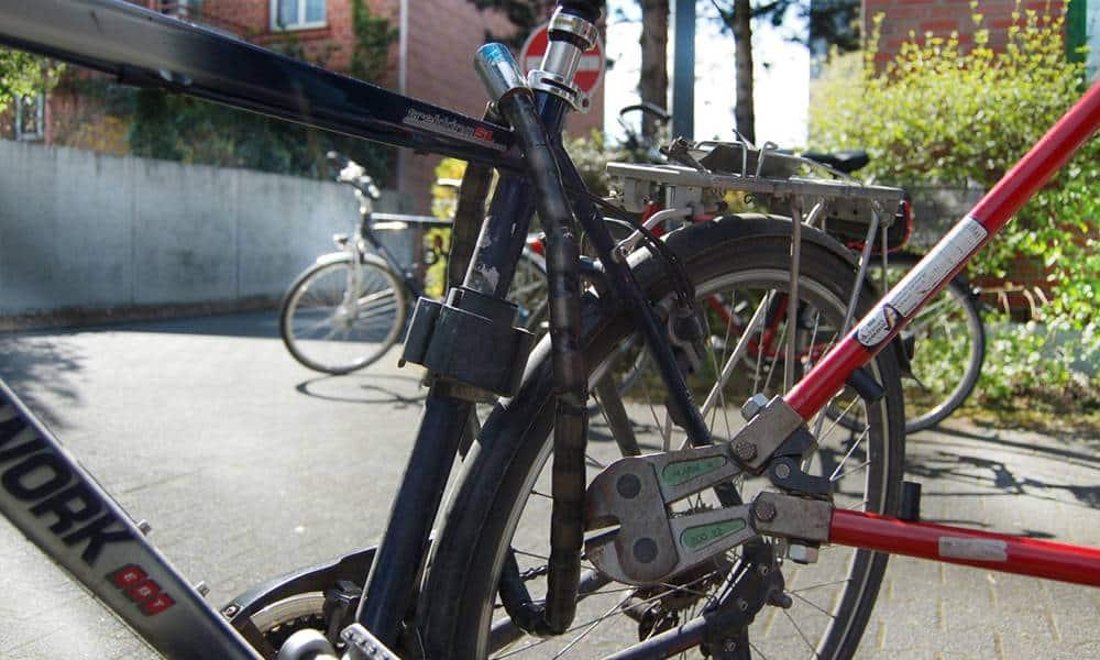 Fahrraddiebstahl - © Polizei