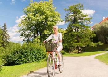Fahrrad, Frau