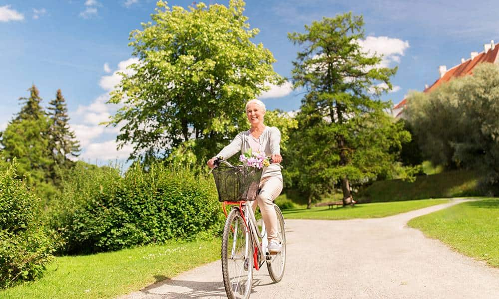 Fahrrad, Frau - © Envato Elements