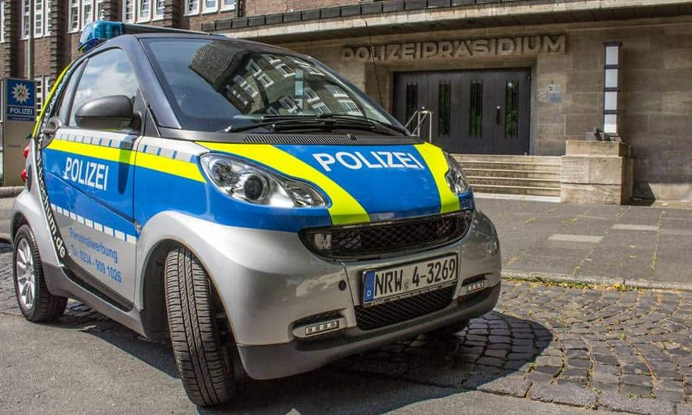 Polizeiauto - © Polizei