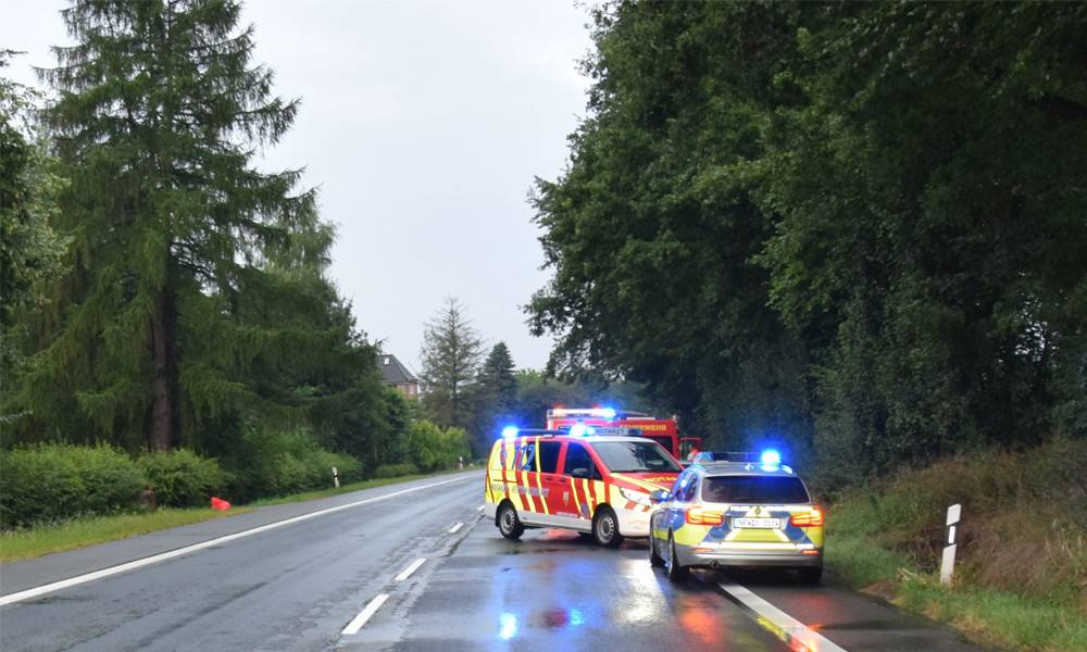 Verkehrsunfall - © Polizei Vlotho