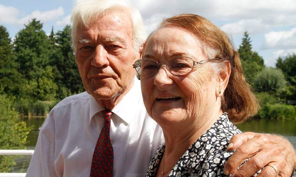 Erika und Josef Duhme aus Wiedenbrück feierten jetzt das seltene Fest der Diamantenen Hochzeit. - © Stadt Rheda-Wiedenbrück