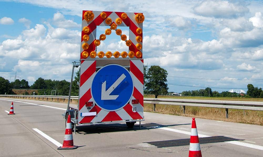 Baustelle, Autobahn - © Pixabay
