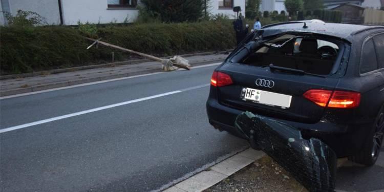VU Flucht Hüller Straße - © Polizei Kirchlengern