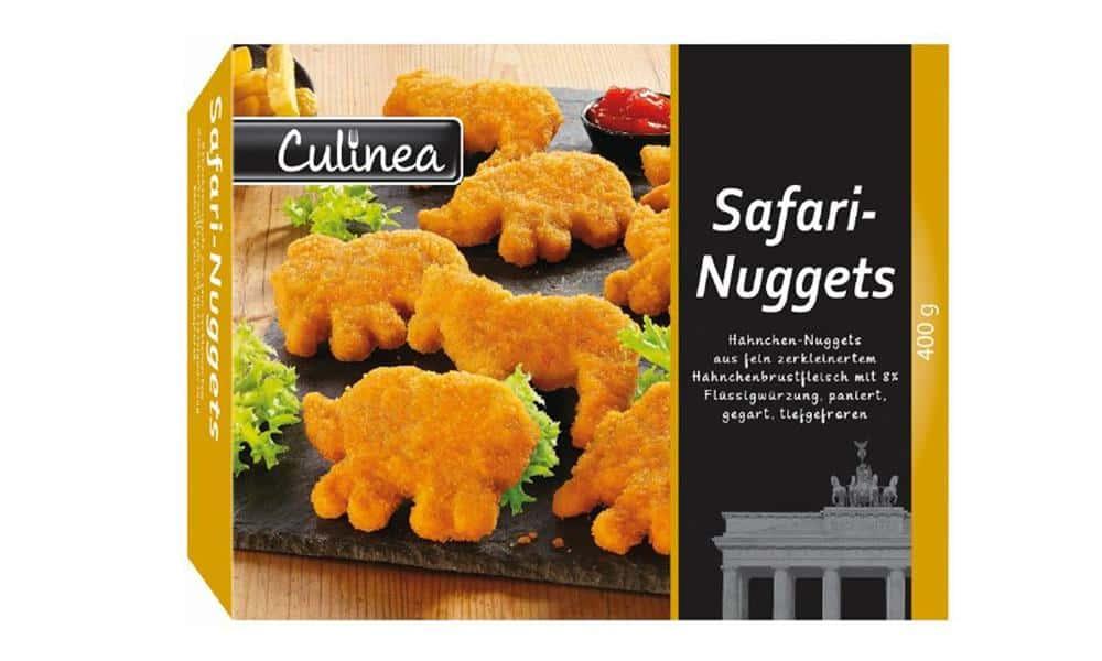 Produkt-Rückruf: Culinea Safari-Nuggets - © Gebr. Stolle GmbH