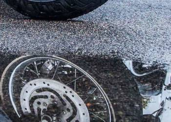 Motorrad, Regen