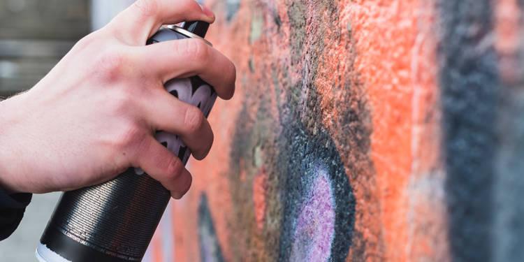 Graffiti, Sprühdose