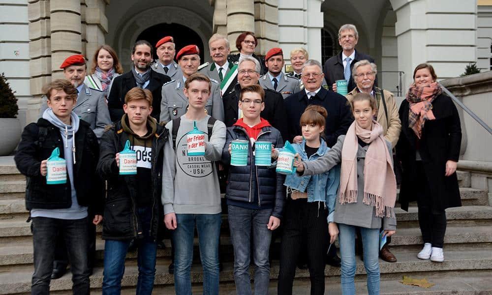 Schüler der Ernst-Barlach-Realschule sammeln Spenden