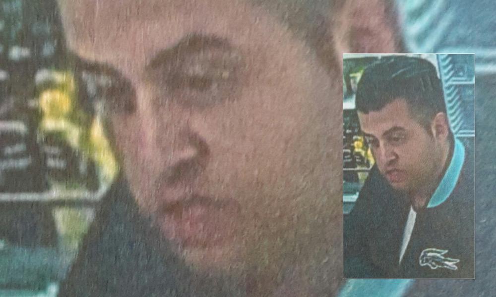 Fahndungsfoto des Tatverdächtigen
