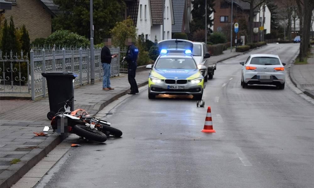 Verkehrsunfall - © Polizei Löhne