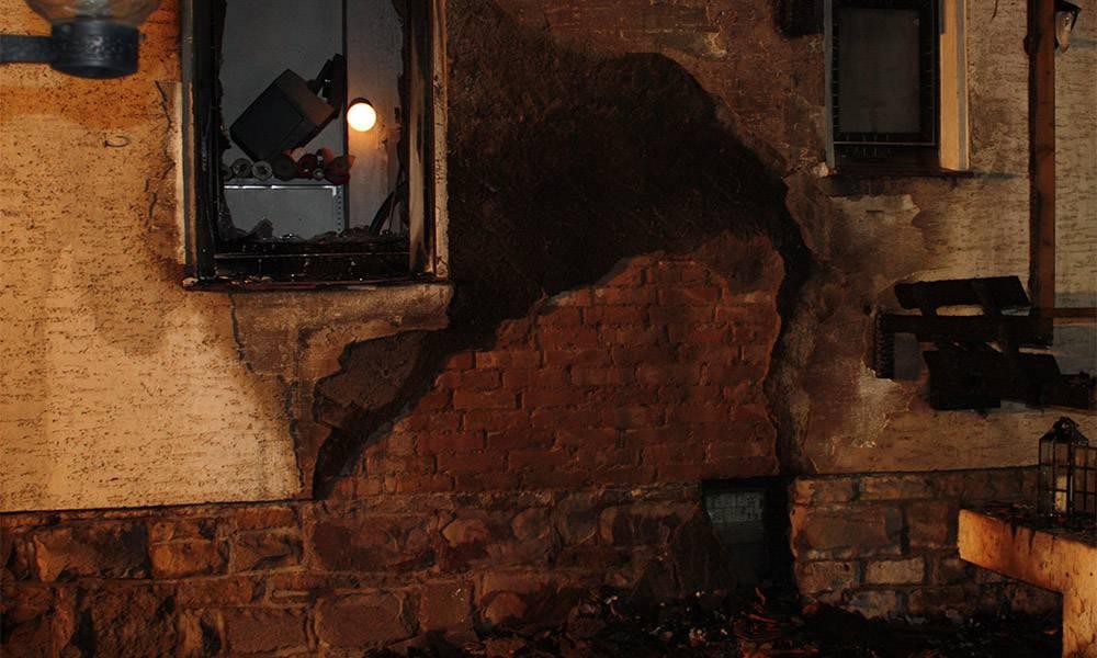 Brand Beverungen - © Polizei Beverungen