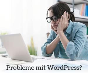 WordPress SOS - Wir helfen wenn Sie nicht mehr weiterkommen