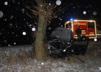 Verkehrsunfall - © Polizei Warburg