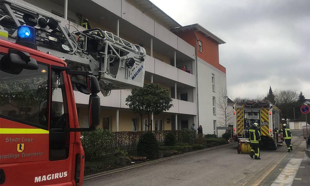 Feuer 3 (Wohnungsbrand) - © Feuerwehr Lage