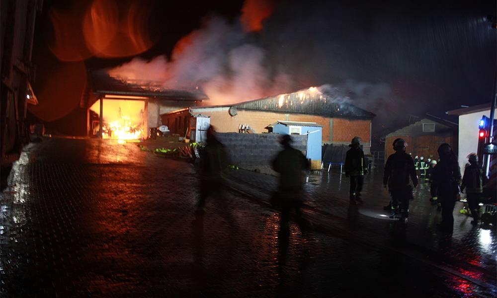 Brand in Natzungen - © Polizei Borgentreich