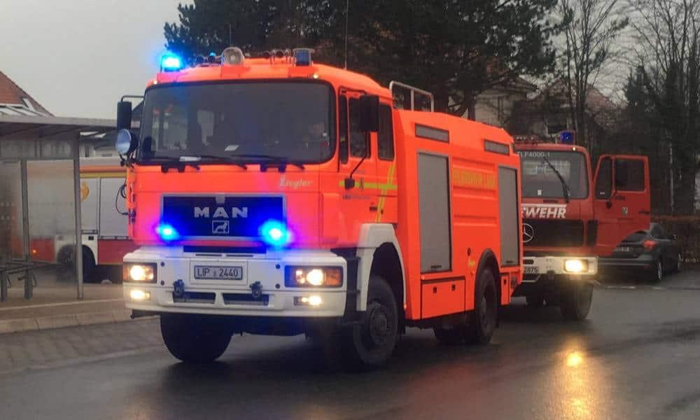 TLF - © Feuerwehr Lage