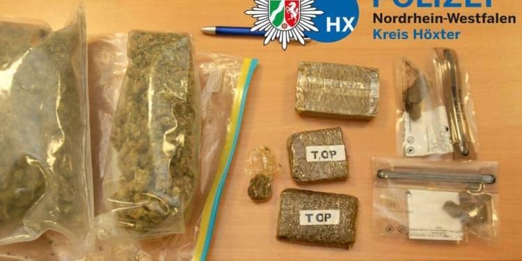 Drogenfund - © Polizei Bad Driburg