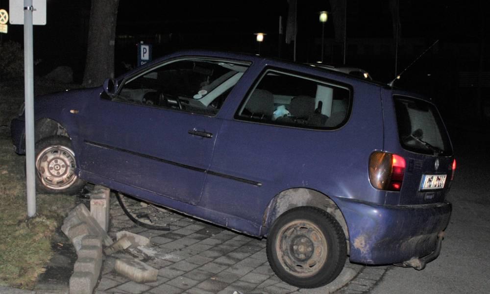 Unfallstelle - © Polizei Bad Dribrug