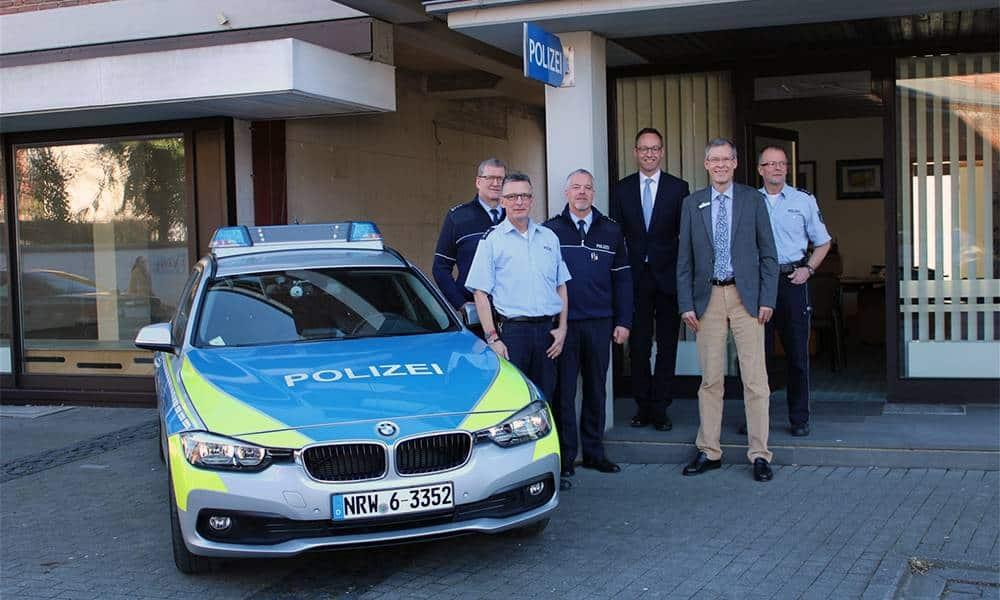Bezirksdienst Rheda - © Polizei Rheda-Wiedenbrück