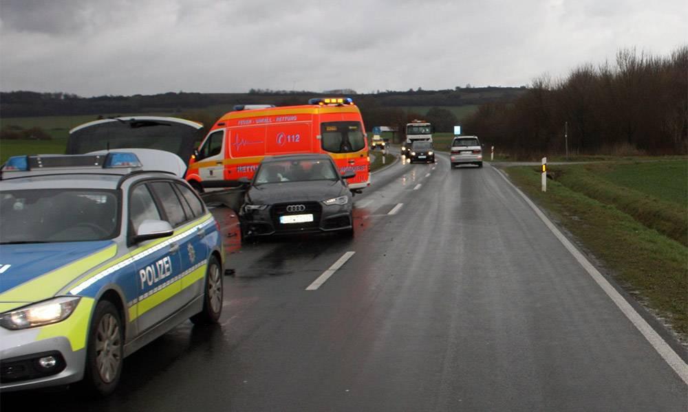 Unfallstelle - © Polizei Höxter