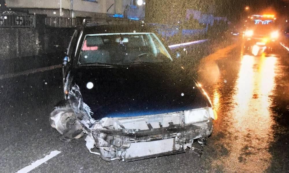 Unfallstelle - © Polizei Bünde