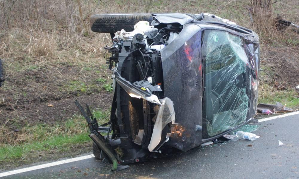 Unfallstelle - © Polizei Beverungen