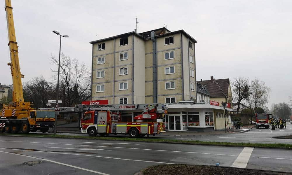 Seniorendomizil am Lübberstor in Herford - © Feuerwehr Herford