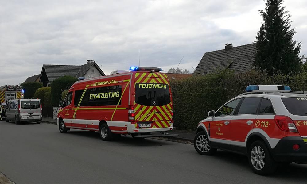 Einsatz - © Feuerwehr Lage