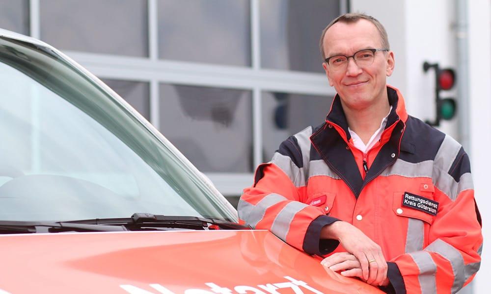 Bernd Strickmann, Notarzt und Ärztlicher Leiter Rettungsdienst beim Kreis Gütersloh