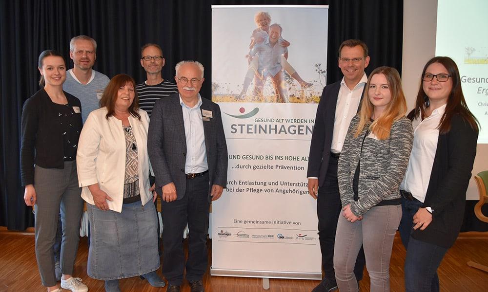 Gesund alt werden in Steinhagen - Abschlussveranstaltung