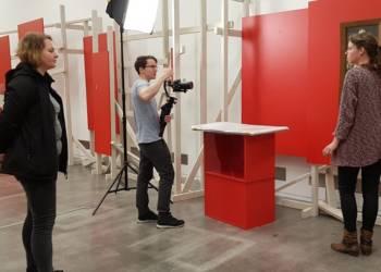 Aufnahme eines Imagefilm