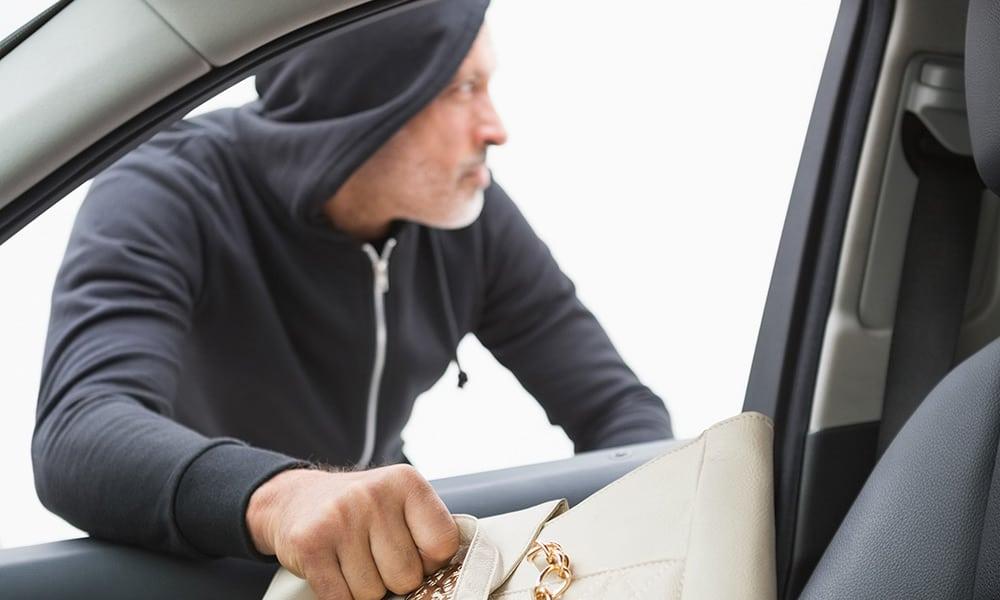 Diebstahl aus Auto