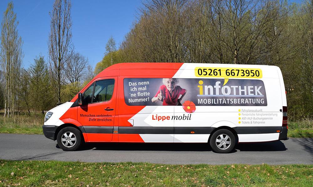 Infomobil KVG Lippe