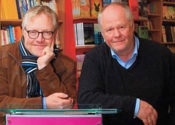 Die Buchautoren Wolfram Tewes und Jürgen Reitemeier